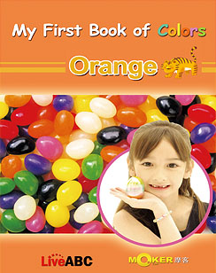 My First Book of Colors Orange