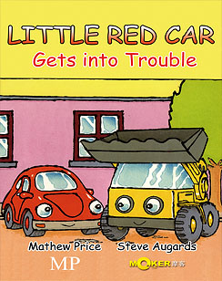 Little Red Car Gets into Trouble