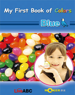 My First Book of Colors Blue