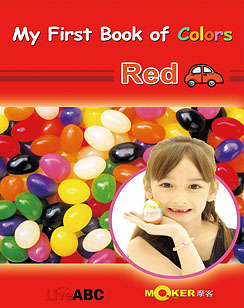 My First Book of Colors Red