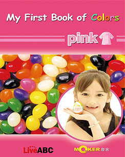 My First Book of Colors Pink