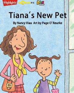 Tiana's New Pet