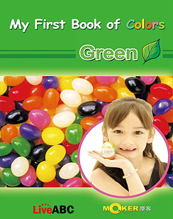 My First Book of Colors Green