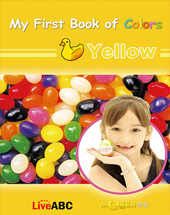 My First Book of Colors Yellow